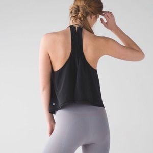 Lululemon Athletica High Neck Split Back Tank